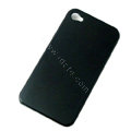 Ultrathin Color Covers Hard Back Cases for iPhone 4G - Black