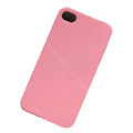 Ultrathin Color Covers Hard Back Cases for iPhone 4G - Pink