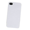 Ultrathin Color Covers Hard Back Cases for iPhone 4G - White
