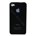 Ultrathin Stamping Hard Back Cases Covers for iPhone 4G - Black