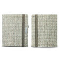 Nillkin Weave leather Cases Holster Covers for iPad 2 - Khaki