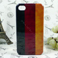 Retro Germany flag Hard Back Cases Covers for iPhone 4G/4GS