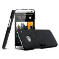 IMAK Ultrathin Matte Color Cover Support Case for HTC One 802t 802w 802d - Black