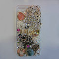 Bling S-warovski crystal cases Ballet girl diamond cover for iPhone 6 - White