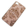 Bling S-warovski crystal cases diamond covers for iPhone 6 - Brown