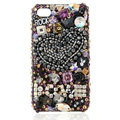 S-warovski Bling crystal Cases Love Luxury diamond covers for iPhone 6 - Black