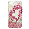 S-warovski Bling crystal Cases Love Luxury diamond covers for iPhone 6 - Pink