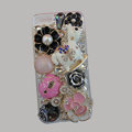 Bling S-warovski crystal cases Pumpkin Trojan diamond cover for iPhone 6 Plus - Pink
