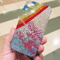 Bling S-warovski crystal cases Rainbow diamond covers for iPhone 6 Plus - Blue