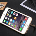 Unique Aluminum Bracket Bumper Frame Case Support Cover for iPhone 6S - Gold