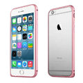 Ultrathin Aviation Aluminum Bumper Frame Protective Shell for iPhone 7 Plus 5.5 - Pink