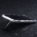 Creative Aluminum Bumper Frame Case for iPhone 8 Support Lanyard Metal Cover - Sliver