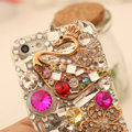 Bling Crystal Cover Rhinestone Diamond Case For iPhone 8 Plus - Gold