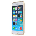 High Quality Aviation Aluminum Bumper Frame Case Cover for iPhone 8 Plus - Gold
