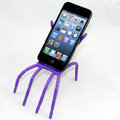 Spider Universal Bracket Phone Holder for iPhone 8 Plus - Purple