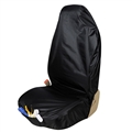 1pcs Disposable Front Car Seat Covers Waterproof Repaired Universal Fit Trucks Suvs Protector - Black