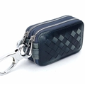 Beautiful Cute Cool Universal Genuine Leather Auto Key Bags Key Chain - Blue