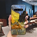 Oil Painting Silica Gel Shell TPU Shield Back Soft Cases Skin Covers for Samsung Galaxy S10 - Street