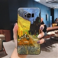 Oil Painting Silica Gel Shell TPU Shield Back Soft Cases Skin Covers for Samsung Galaxy S8 - Street