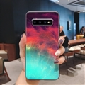 Starry Sky Silica Gel Shell TPU Shield Back Soft Cases Skin Covers for Samsung Galaxy S10 Plus S10+ - Sky 02
