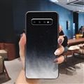 Starry Sky Silica Gel Shell TPU Shield Back Soft Cases Skin Covers for Samsung Galaxy S10 - Sky 01