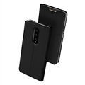 Classic Support Shell Book Cover Flip Leather Cases Holster Skin For iPhone 11 Pro Max - Black